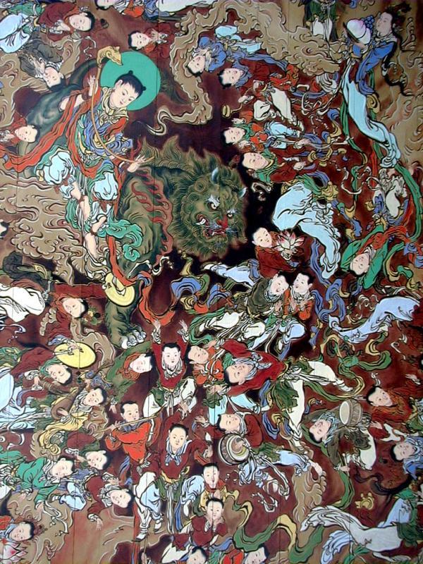 Buddhist Temple Art