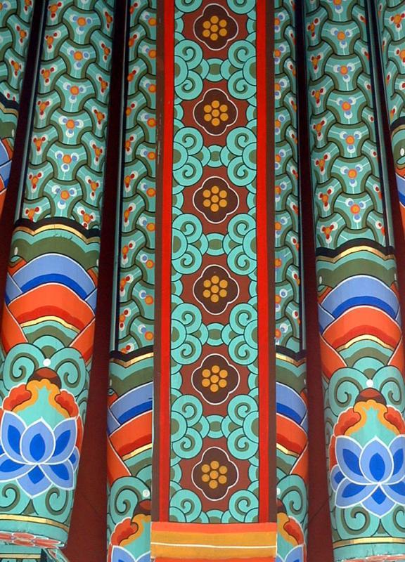Buddhist Temple Artwork