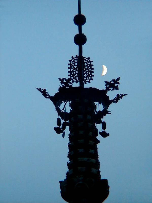 Octagonal Nine-story Pagoda Top