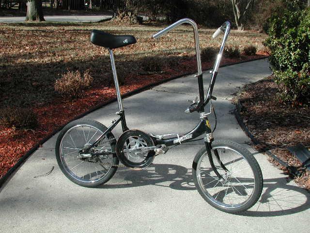 Porta-Silk, Porta-Cycle Folding Bicycle (16)