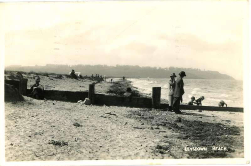 Leysdown Beach 1947