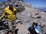 Mount Dana: Waiting for the summit photo.