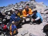 Mount Dana: The obligatory summit photo.