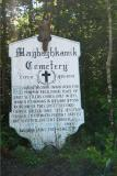 Maghagkamick Cemetery Sign -  Port Jervis, NY