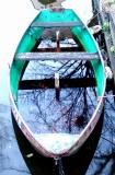 Reflection in rowingboat