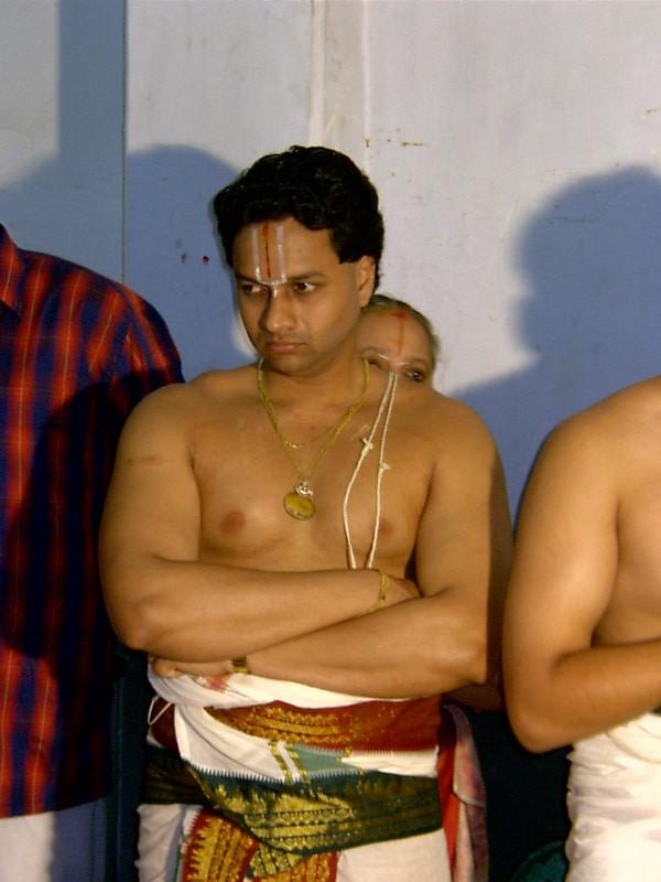 E.B. Sriram Swamy (Thirukkumarar of Bhoovarahachariar swamy)