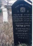 Chaim Alter son of R' Asher Zelig SIEGELMAN