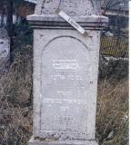 Miriam daughter of Eliezer 4th day of Adar II 5681 (March 14, 1921)