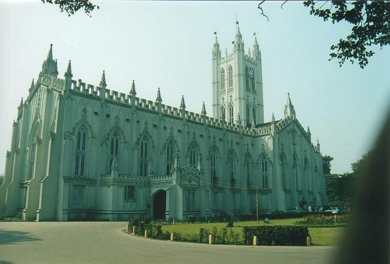 Calcutta - Cathedral1