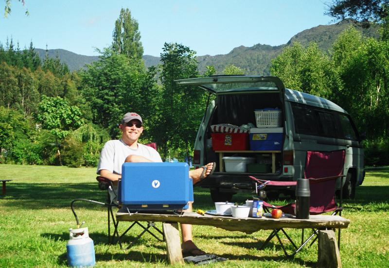 Camping at Old MacDonalds Farm