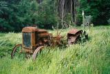 Old Tractor along the track