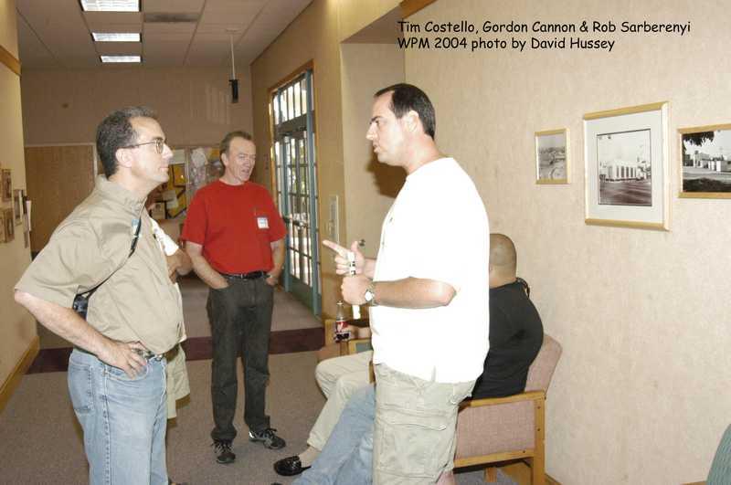 Tim Costello, Gordon Cannon and Rob Sarberenyi