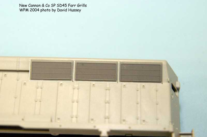 Cannon & Co Farr Grills for the SD45