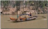 Oar power on the Shennong Stream