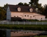 The Ford Barn at Dusk