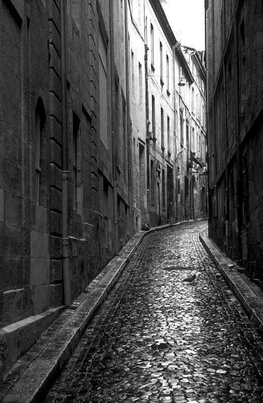 Lane in Bordeaux