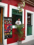 Arty restaurant