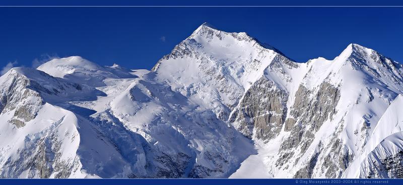 Mt. McKinley /North Peak/, Alaska, US (540Kb)