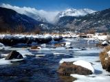 Snow At Big Thompson RiverbyLisa Young