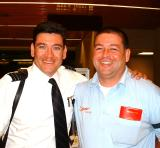 Chris and Eddie - Terminal Agent, Places bags on A/C