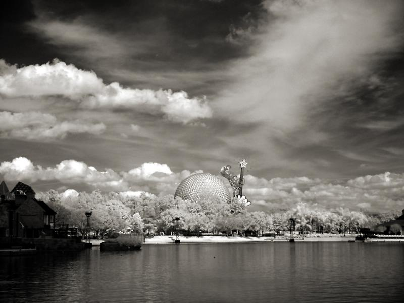 Epcot Landscape infrared