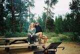 Camping in Bend, Oregon - July '02