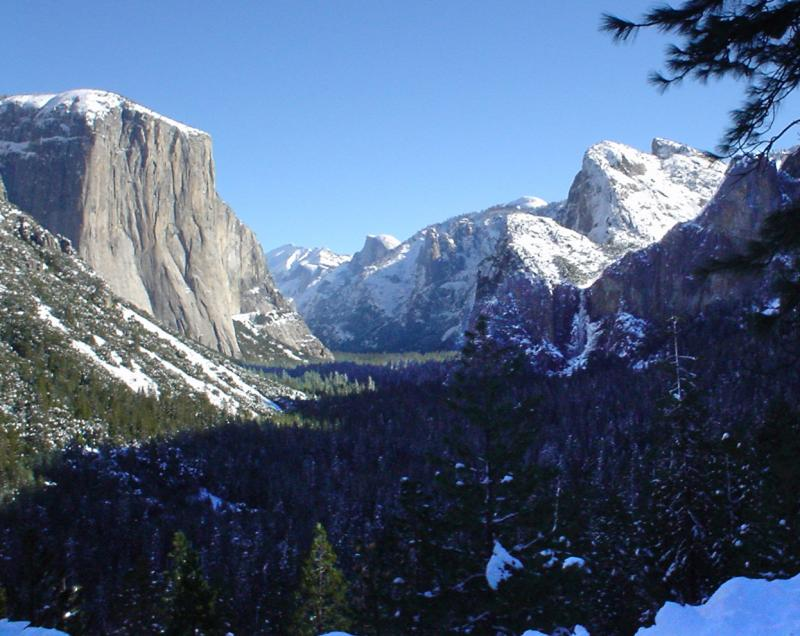 Yosemite Valley Classic Tunnel View