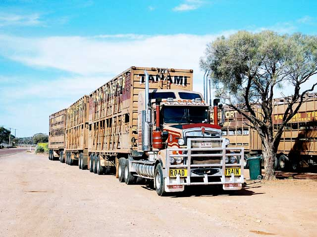 roadtrain - Outback Australia