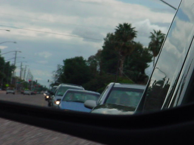 20. behind us traveling north on Extention reflection