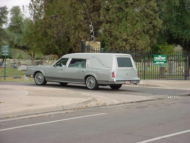 41. turning left into the Mesa cemetery at 1212 N Center Street Mesa Arizona 85201
