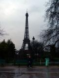 Nicki in front of the Tower