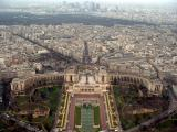 Another look at Trocadero Gardens and Palais de Chaillot from the third floor
