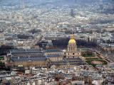 Les Invalides from the third floor