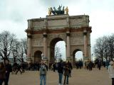The Arch of Triumph of the Carrousel