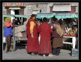 Monks at Marketplace