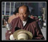 Man with Prayer Bell
