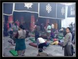 Outside Jokhang Temple
