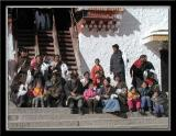 Group of Visitors to Potala