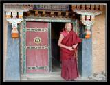 At a village outside Lhasa