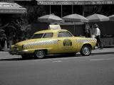 Caliente cab, colorized