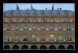 Nearbye hotel du Louvre, early morning