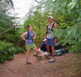 Summit 8 (Middle Tiger) - Deb & Glenn touching the rock