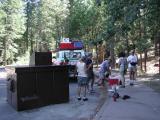 Auf dem Weg zum Yosemite Nationalpark