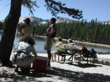 Mittagspause am Lake Tenaja