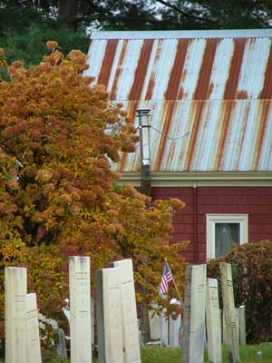 Rusty Roof Graveyard