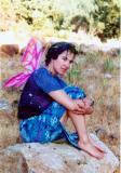 rachel the fairy at Transdimensional Healing, June 2001, California