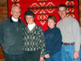 Ron, Mom, Carol and Steve at the Vista Sea