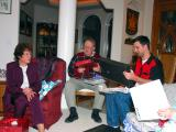 Christmas Dinner at Darlene and Dave's