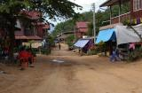 Village on the road to Ban Kuan, Laos