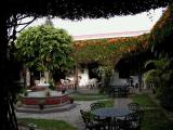 typical courtyard